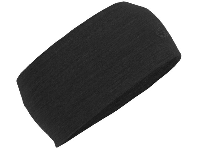 Icebreaker Flexi Headband Black Heather